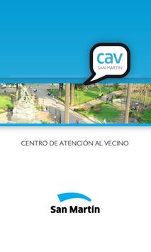 CAV Móvil - San Martín poster