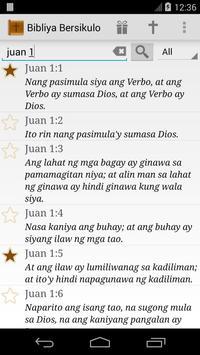 Daily Bible Tagalog poster