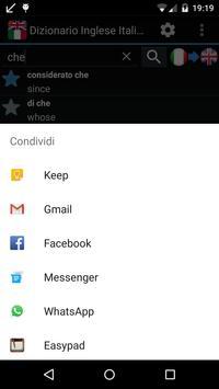 Offline English Italian Dict. apk screenshot