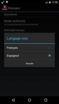 Offline Spanish French Dict. apk screenshot