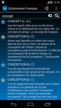Offline French Dictionary FREE poster