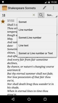 Shakespeare Sonnets Study poster