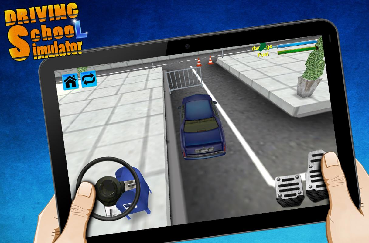 Driving school simulator 3d apk download free racing for Simulatore 3d