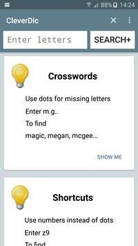 CleverDic Crossword Solver poster