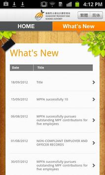 MPFA apk screenshot