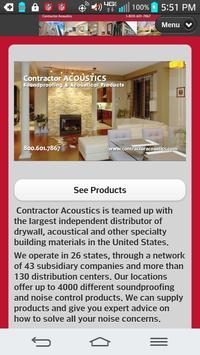 Contractor Acoustics poster