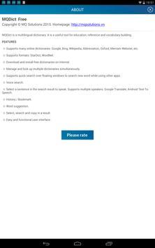 MQDict Dictionary apk screenshot