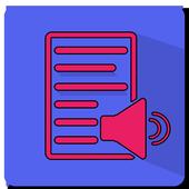 Text Files To Speech Converter icon