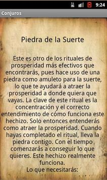 Conjuros y Hechizos Vudu Magia apk screenshot