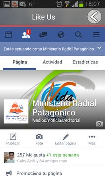 Ministerio Radial Patagonico poster