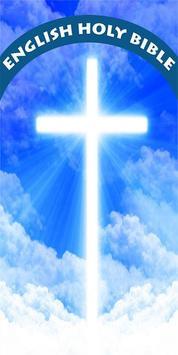 Holy English Bible poster