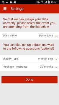 New Events Data Capture apk screenshot
