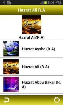 Hazrat Ali(R.A) apk screenshot