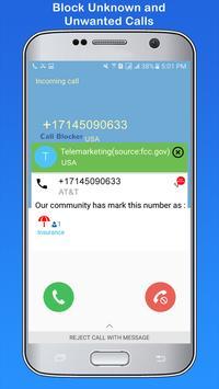 Telemarketing Call Blocker apk screenshot