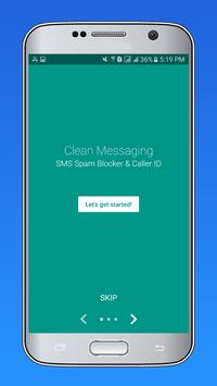 CleanMessaging:SMS&CallBlocker apk screenshot