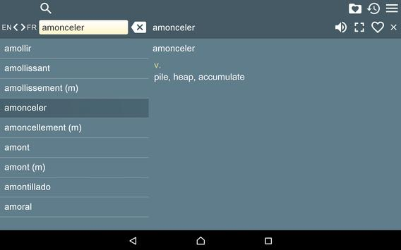 English French Dictionary Free apk screenshot