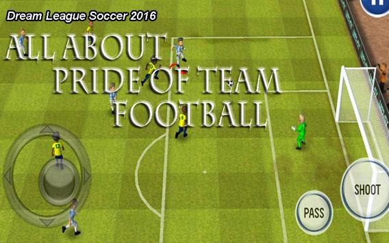 New DREAM LEAGUE SOCCER Guide poster