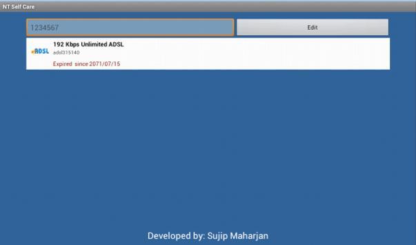 NT Self Care apk screenshot
