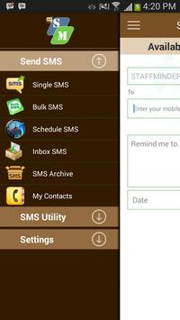 STAFF SMS apk screenshot