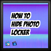 How to hide photo locker Tip icon