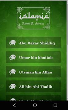 Islamic Quotes & Advices poster