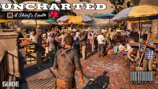 Guide Uncharted 4 poster