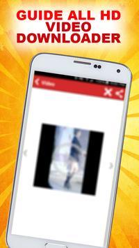 HD Video Downloader Guide apk screenshot