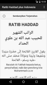 Ratib Haddad plus Indonesia poster