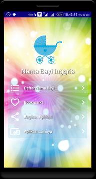 Nama Bayi Inggris - Baby Names poster
