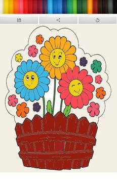 Coloring Book : Flower apk screenshot