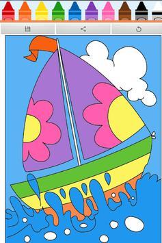 Coloring Book : Ship apk screenshot