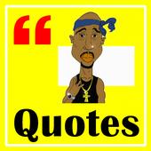 Quotes Tupac Shakur icon
