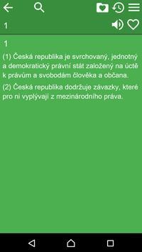 Constitution of Czech Republic apk screenshot