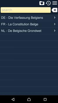 The Belgian Constitution poster