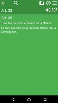 The Belgian Constitution apk screenshot