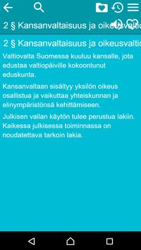 Constitution of Finland apk screenshot