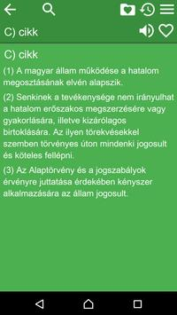 Constitution of Hungary apk screenshot