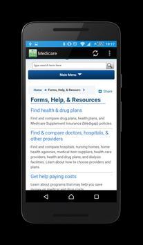 Medicare apk screenshot