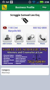 NW Missouri Directory apk screenshot
