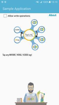 TapLinx SDK Sample App poster