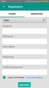 Nxtstepz apk screenshot