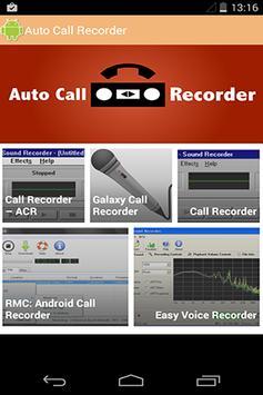 Auto Call Recorder apk screenshot