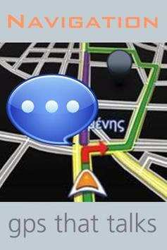 GPS Navigation with Voice poster