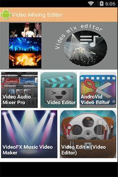 Video Mixing & Editor apk screenshot