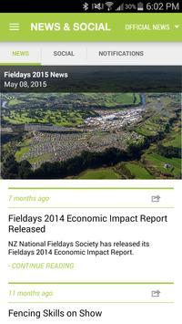 Fieldays apk screenshot