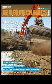 NZ Geomechanics News apk screenshot