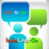 IndiaChatOn- Free Chatting App icon