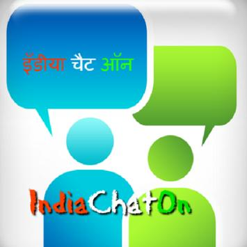 IndiaChatOn- Free Chatting App poster