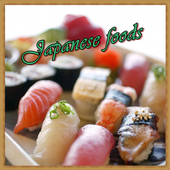 Japanese foods icon