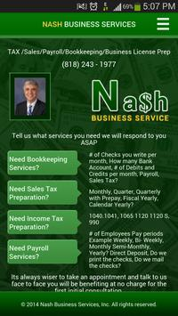 Nash Business Services poster